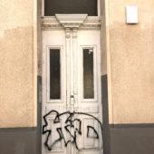 Graffittibeseitigungen - Vorher